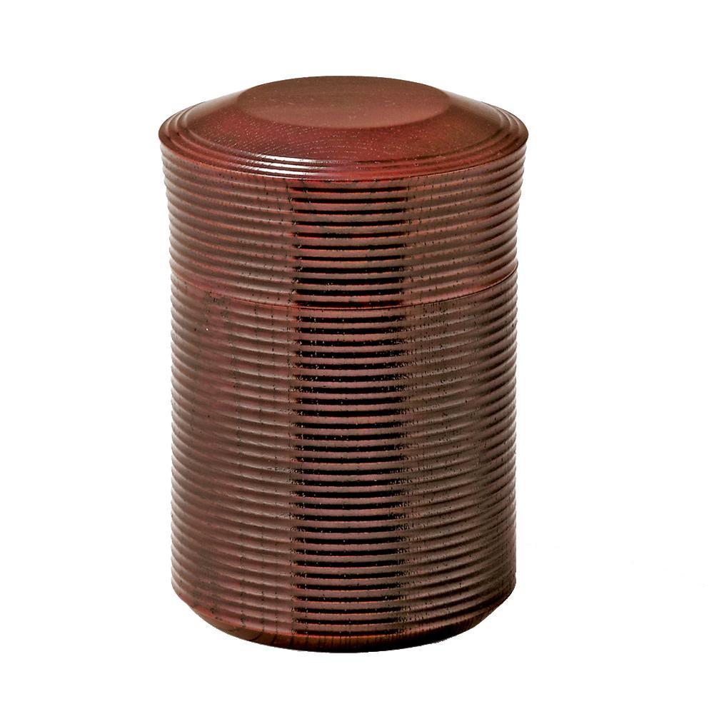 【クーポンあり】【送料無料】東出漆器 コーヒータイム豆入 24011 天然木製のコーヒー豆入。