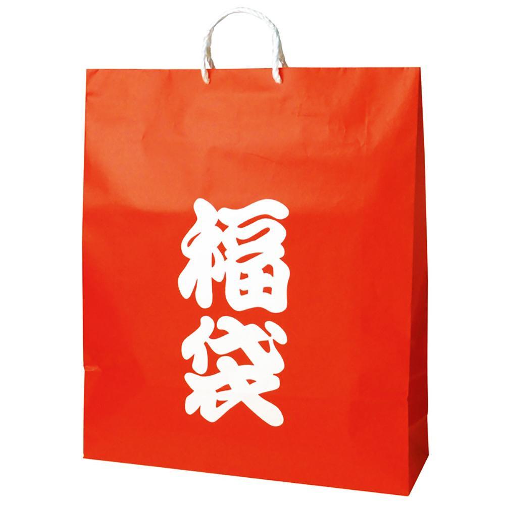 【クーポンあり】【送料無料】ササガワ タカ印 50-5642 手提げバッグ 福袋 超特大 50枚 定番デザインの福袋バッグです。