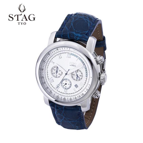 【クーポンあり】STAG TYO 腕時計 STG010S1 牡鹿をイメージしたメンズブランドウォッチ。