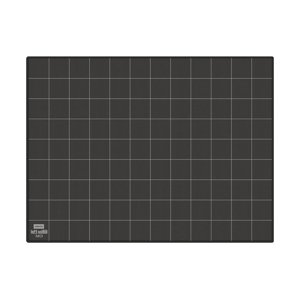 【クーポンあり】カッティングマット 普及タイプCM ブラック 1-413-6426 紙のカットや写真のトリミングなどに適したカッティングマット。