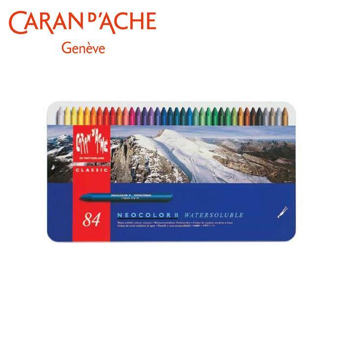 【クーポンあり】【送料無料】カランダッシュ 7500-384 ネオカラーII 84色セット 618217 イラスト、グラフィックアート、水彩画に最適!