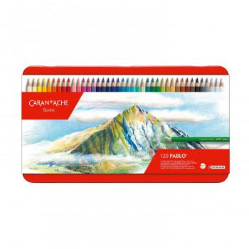 【クーポンあり】【送料無料】カランダッシュ 0666-420 パブロ 色鉛筆 120色セット 619156 趣味で楽しまれる方にも最適!