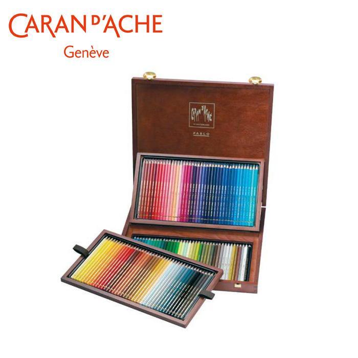 【クーポンあり】【送料無料】カランダッシュ 0666-920 パブロ 色鉛筆 120色木箱セット 619157 趣味で楽しまれる方にも最適!
