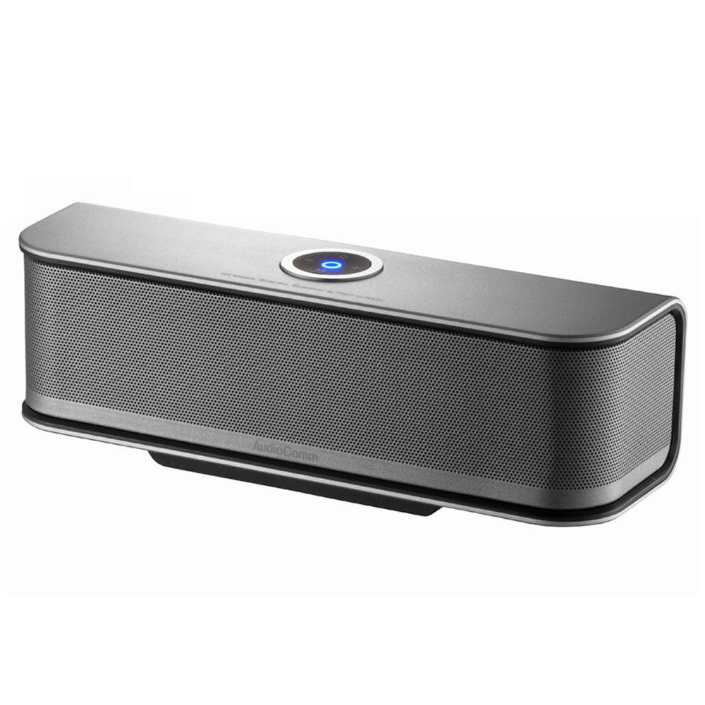 ASP-W700N/高出力ハイパワーアンプで驚きの迫力サウンド!! AudioComm 【クーポンあり】【送料無料】オーム電機 Bluetoothワイヤレスステレオスピーカー OHM