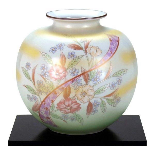 【クーポンあり】【送料無料】九谷焼 7号花瓶 洋花 N170-02