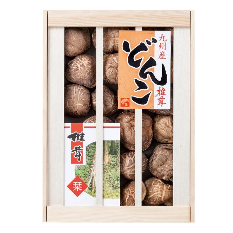 【クーポンあり】九州産原木どんこ椎茸 KKD-40 6285-028 贈り物におすすめの詰め合わせギフト。