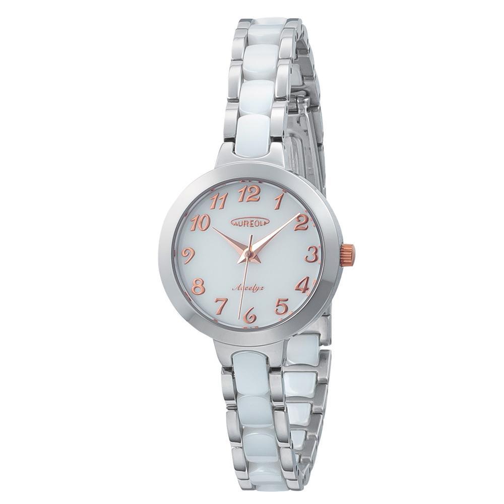 【送料無料】AUREOLE(オレオール) セラミック レディース 腕時計 SW-599L-03