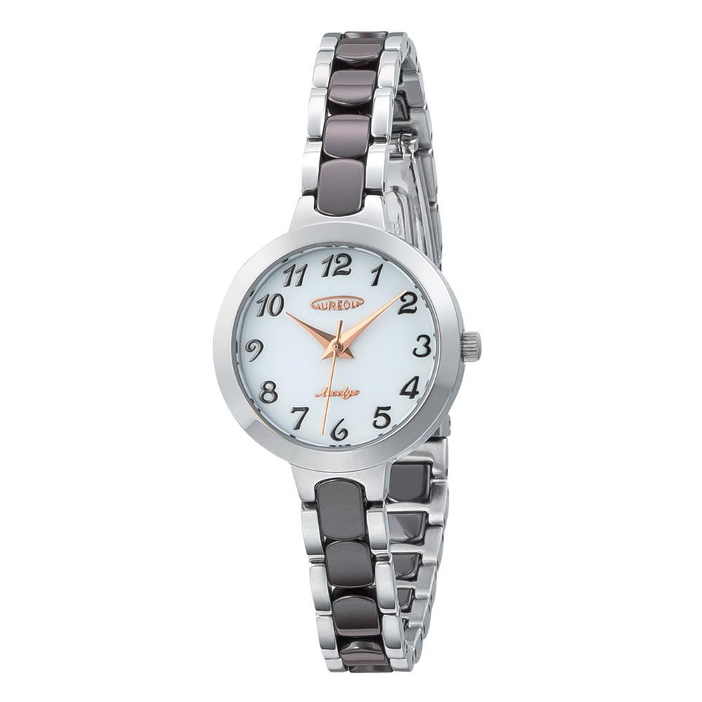 【送料無料】AUREOLE(オレオール) セラミック レディース 腕時計 SW-599L-05