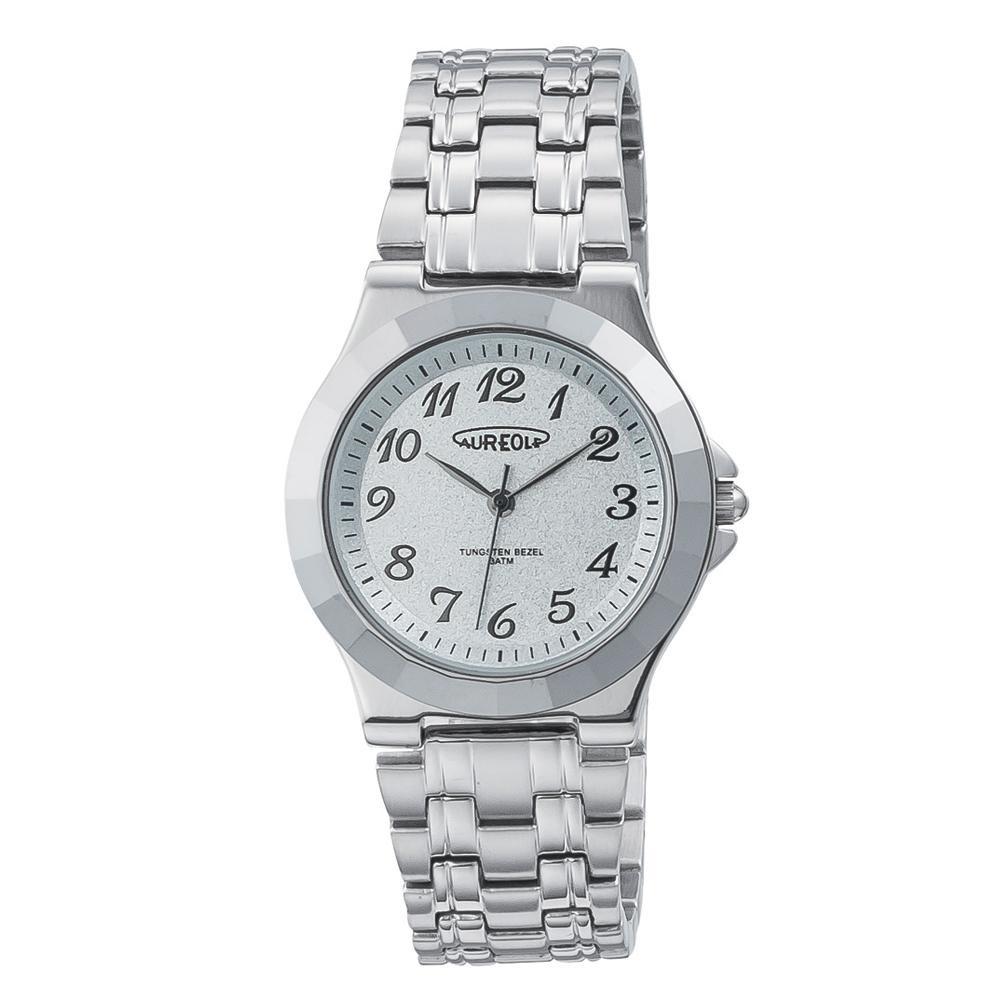 【送料無料】AUREOLE(オレオール) 超硬 メンズ 腕時計 SW-597M-03
