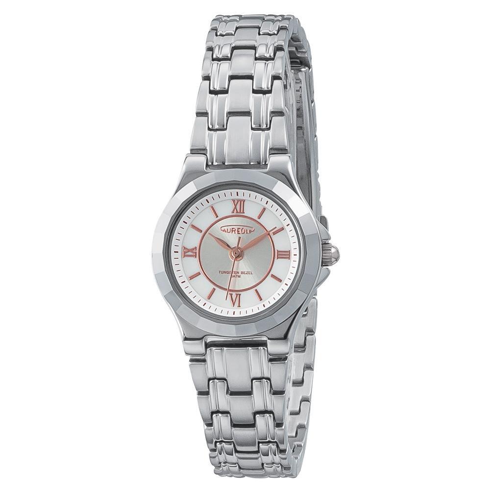 【送料無料】AUREOLE(オレオール) 超硬 レディース 腕時計 SW-597L-01