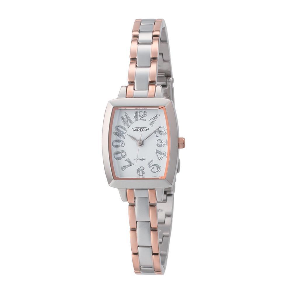 【クーポンあり】【送料無料】AUREOLE(オレオール) アクセリーゼ レディース 腕時計 SW-497L-7