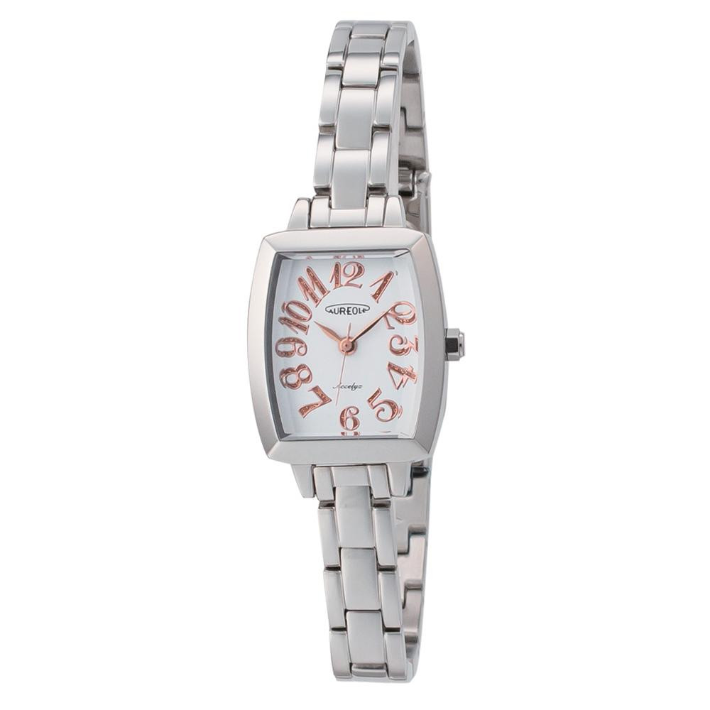 【送料無料】AUREOLE(オレオール) アクセリーゼ レディース 腕時計 SW-497L-8