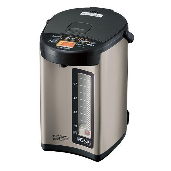 【送料無料】象印 マイコン沸とうVE電気まほうびん 優湯生 5.0L ステンレス(XA) CV-RA50