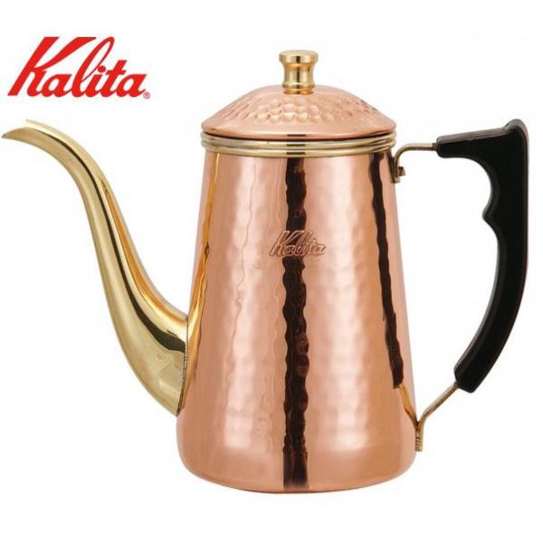 【クーポンあり】【送料無料】Kalita(カリタ) 銅製品 銅ポット0.7L 52019/味わいをひときわ深める、カリタの銅製品。