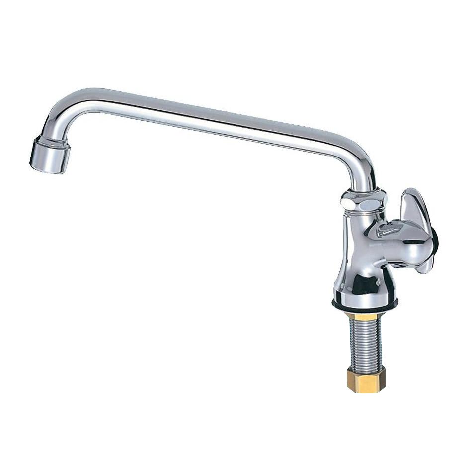【送料無料】三栄水栓 SANEI ミニセラ泡沫立形上向自在水栓JA575H-13