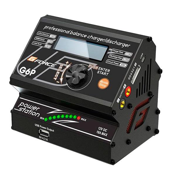 【クーポンあり】【送料無料】G-FORCE ジーフォース G6P AC Charger & Power Supply G0025/10A充電器と18A安定化電源がドッキング!
