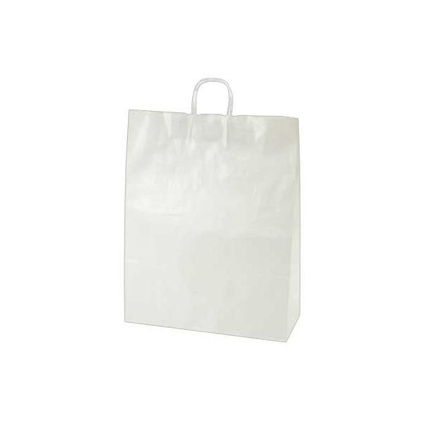 【クーポンあり】【送料無料】ササガワ タカ印 50-5500 手提げ袋 白無地 特々大 50枚