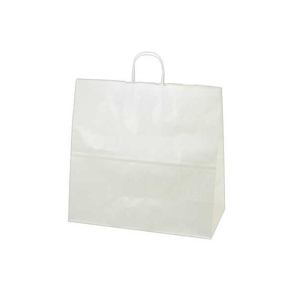 【クーポンあり】【送料無料】ササガワ タカ印 50-5600 手提げ袋 白無地 特大角 50枚
