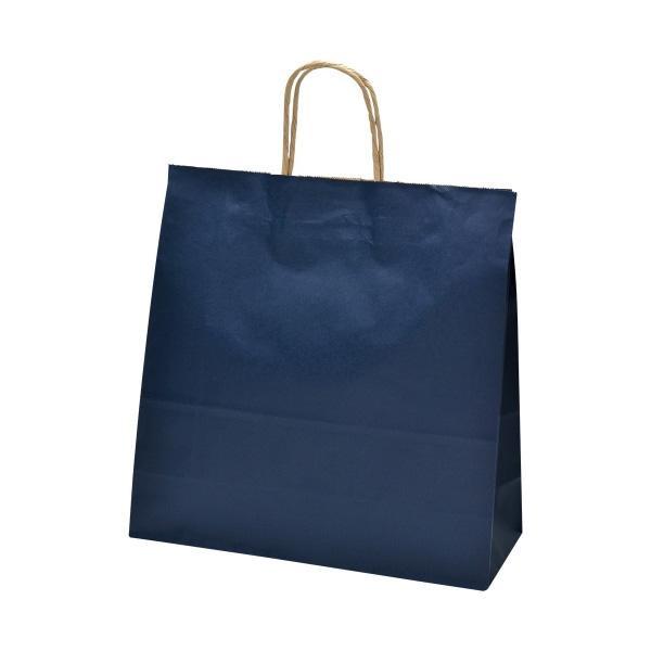 【クーポンあり】ササガワ タカ印 50-5602 手提げ袋 紺 中 50枚 無地のシンプルな手提げバッグ。