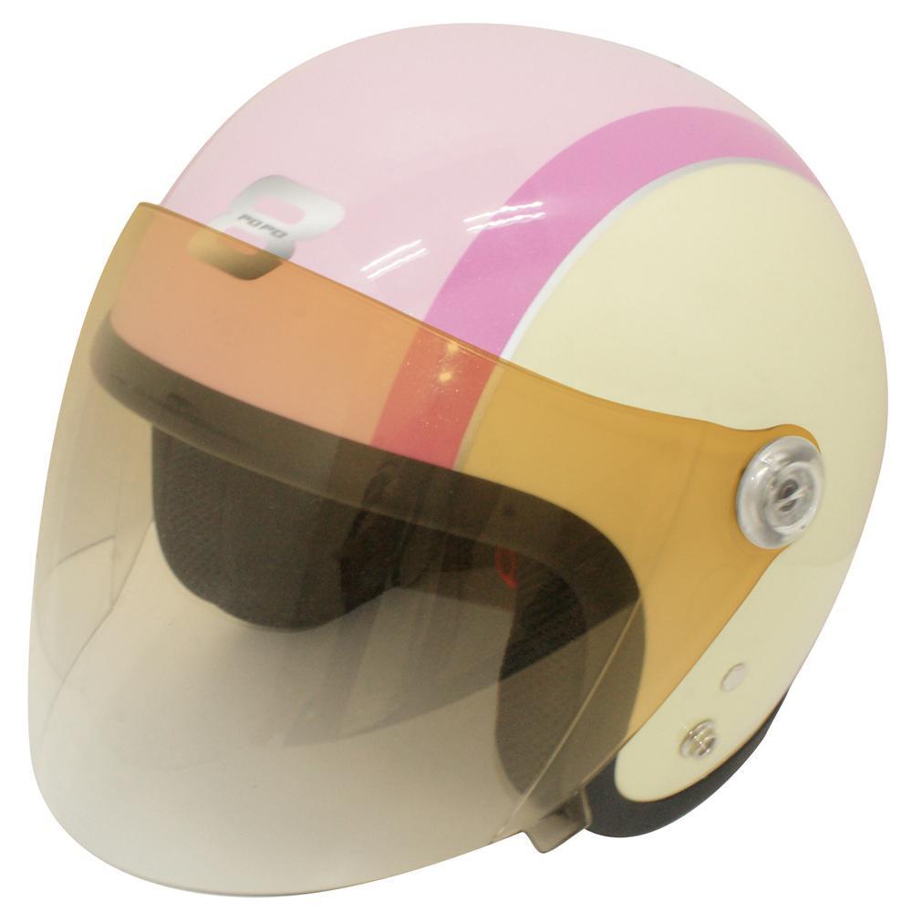 【最大ポイント20倍】【送料無料】ダムトラックス(DAMMTRAX) バイクヘルメット ポポ-8 PINK