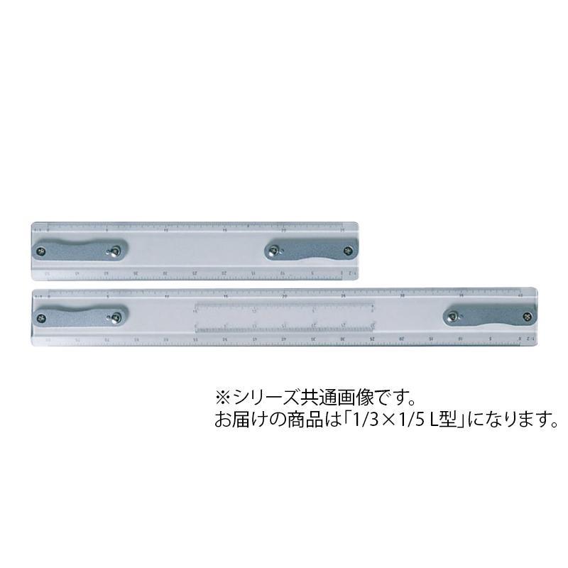【クーポンあり】【送料無料】ドラパス トラックタイプ製図機 替スケール 1/3×1/5 L型