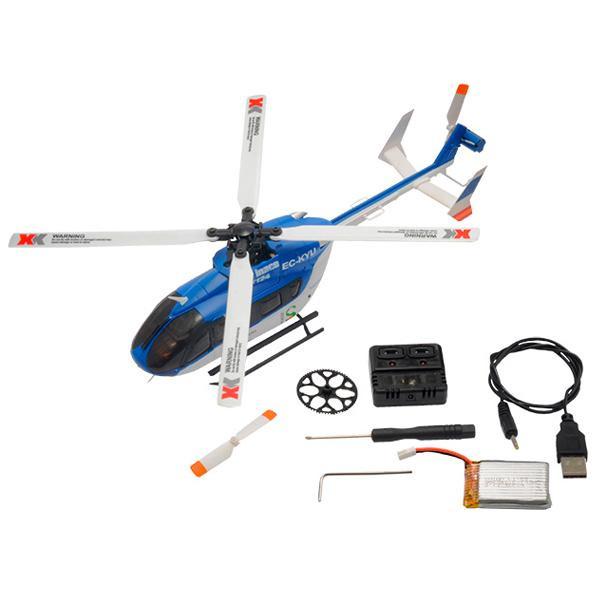 【クーポンあり】【送料無料】ハイテック エックスケー K124 3D/6G ヘリコプター プロポレス XK124-B 機首に高輝度LEDを装備した小さなリアルヘリコプター!