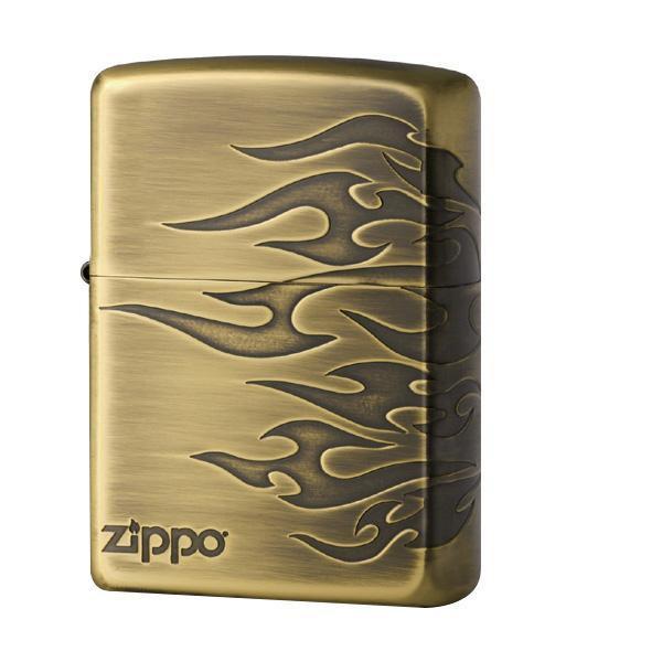 【クーポンあり】【送料無料】ZIPPO デュアルタトゥー BS 2-73b (♯200) 70599 表面と右サイドにタトゥーパターンをエッチング。