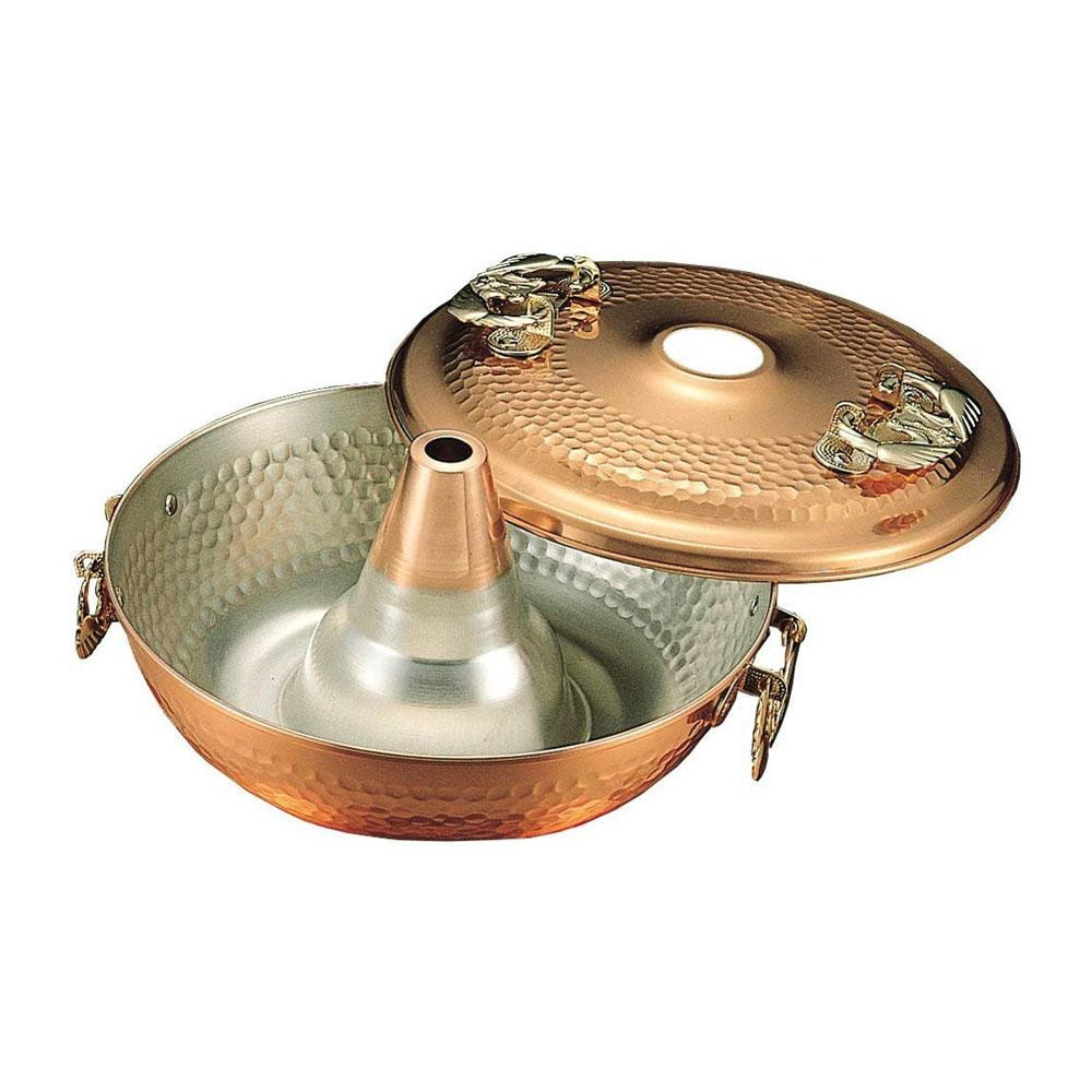 【クーポンあり】【送料無料】輝煌 銅しゃぶ鍋 26cm TN8000