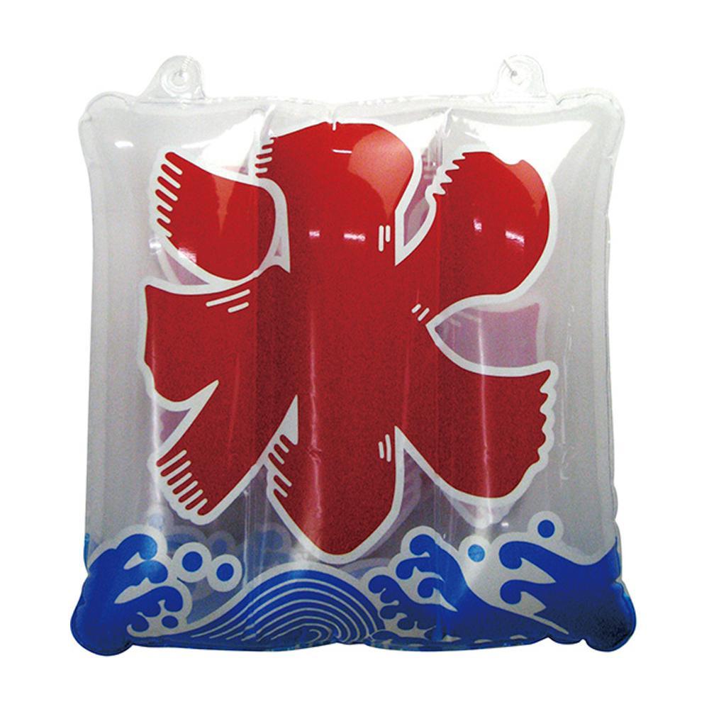 かわいい風船タイプの販促物 クーポンあり APOP ビニール 氷 63045 奉呈 四角型 日本限定 風船