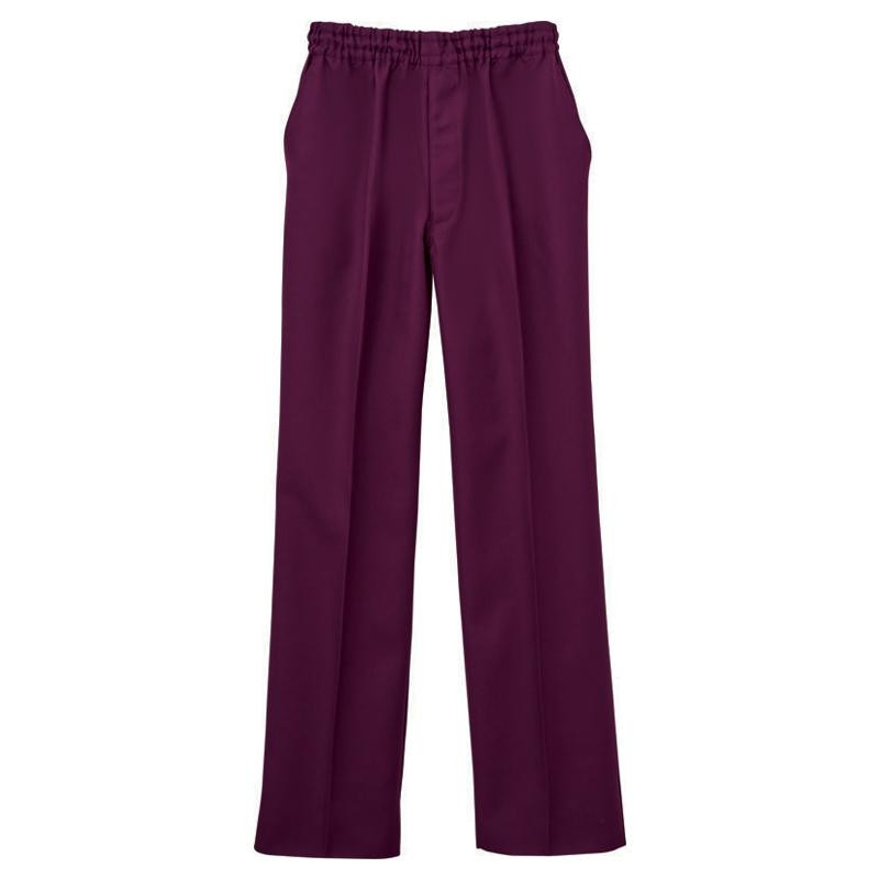 【クーポンあり】男女兼用パンツ バーガンディ S WH11486A 2185-6359 医療現場に最適!