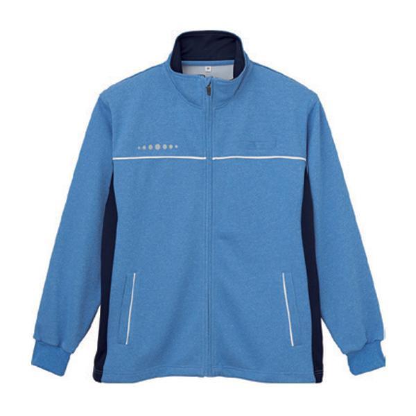 クーポンあり送料無料 男女兼用ハーフジャケット ブルー L WH90245 2185 636634ALqj5R