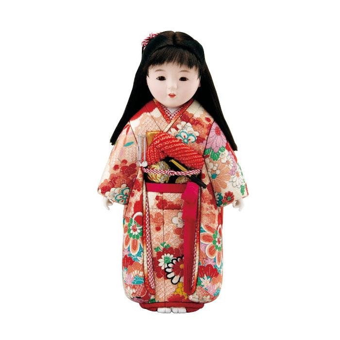 【送料無料】01-580 舞ちゃん ボディ かわいらしい女の子の木目込み人形。