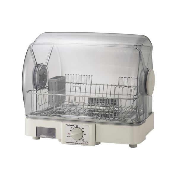 【クーポンあり】【送料無料】象印 食器乾燥器 EY-JF50 グレー(HA) キッチン 清潔 らく 時短 便利 台所 抗菌加工 家事 グッズ