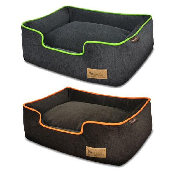 【クーポンあり】【送料無料】ラグジュアリーベッド「P.L.A.Y」 ペット用ベッド ラウンジベッド(BOX型) Sサイズ アーバンプラッシュ あご乗せも出来る、ペット用箱型ベッド。