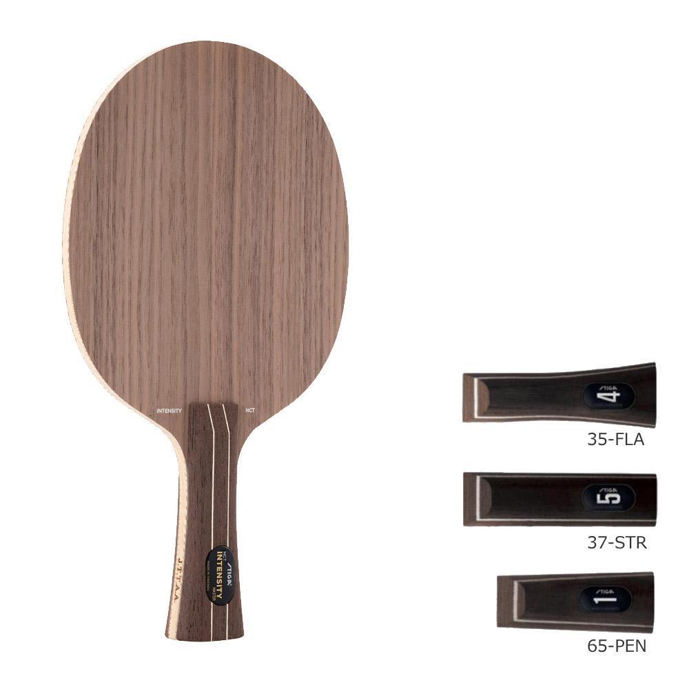 【クーポンあり】【送料無料】1022 卓球ラケット インテンシティNCT 球威と弧線のバランスが良いラケット。