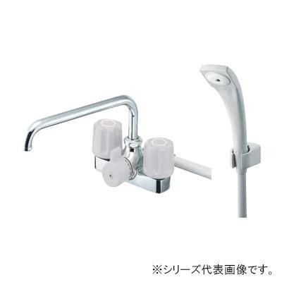【送料無料】三栄 SANEI U-MIX ツーバルブデッキシャワー混合栓 寒冷地用 SK710K-LH-13