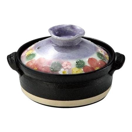 【クーポンあり】【送料無料】雅花化粧 IH土鍋 6号 31-15536 IHコンロで使える!日本製の土鍋。