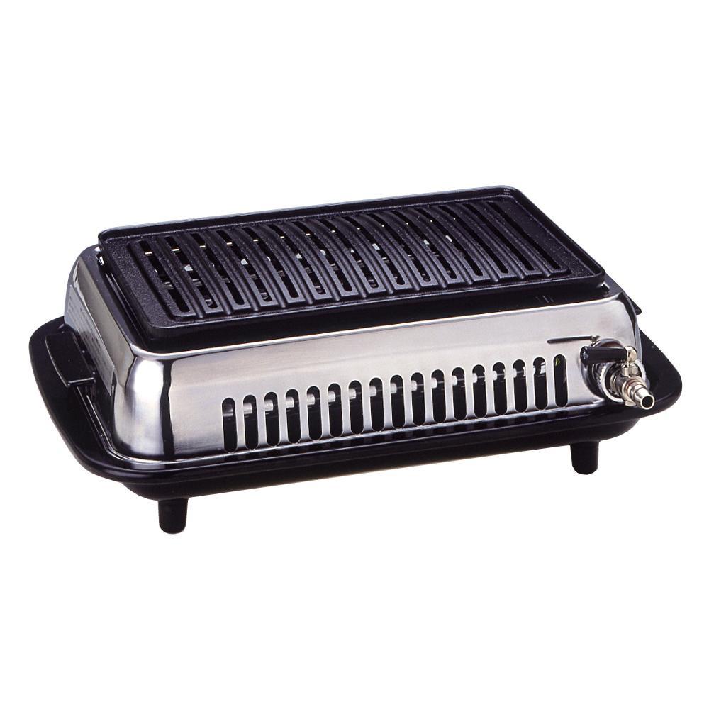【クーポンあり】【送料無料】高級焼肉器 Y-37B つどい LPガス用 本格的な焼肉を楽しみたい方に。
