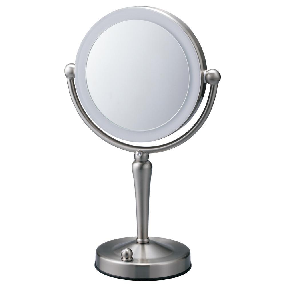 高級品市場 【クーポンあり】 両面Z型【送料無料 EC005ZAC-5X 880078】鏡 両面Z型 EC005ZAC-5X 880078 LEDライト付の5倍拡大鏡で、しっかりチェック。, フレンドバッグ:7c3e6898 --- canoncity.azurewebsites.net
