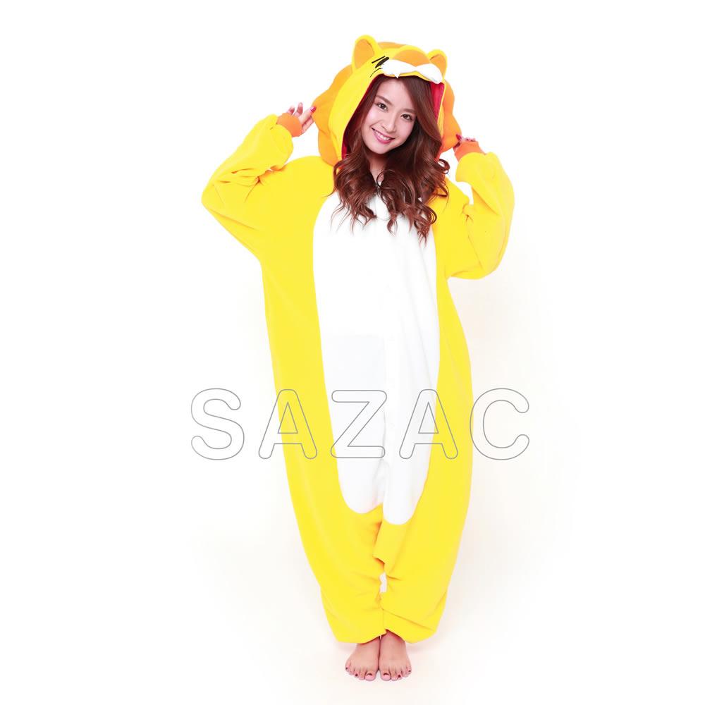 【クーポンあり】サザック フリースライオン着ぐるみ 2745 フリースライオンのかわいい着ぐるみ☆