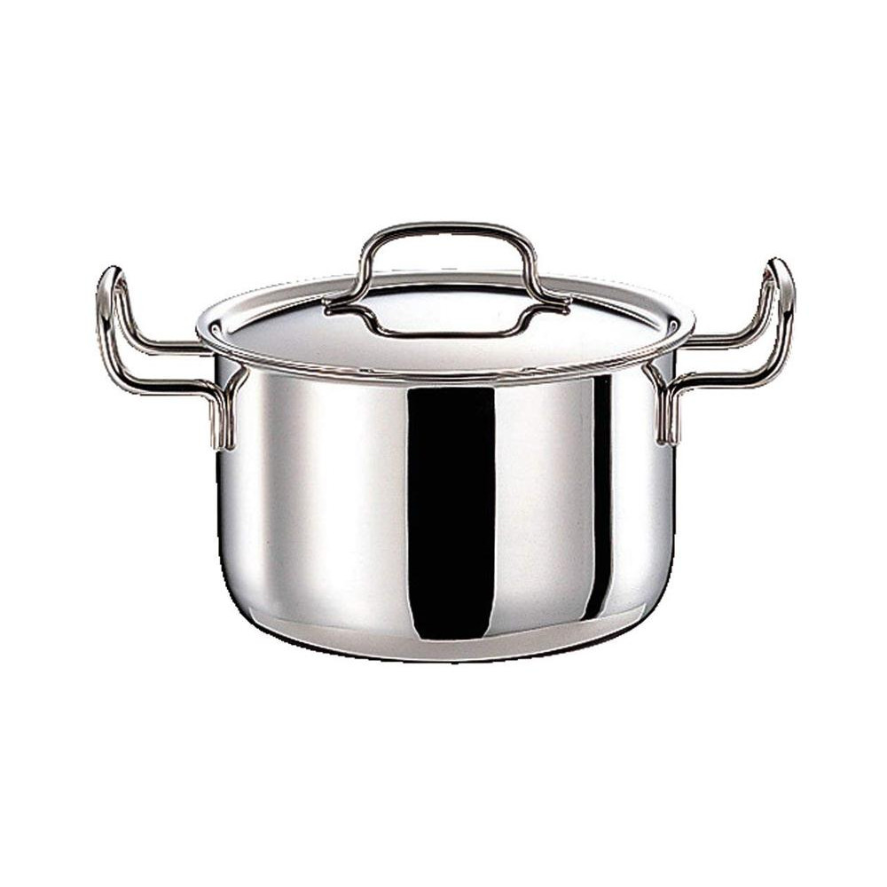 【クーポンあり】【送料無料】ジオ・プロダクト ポトフ鍋 22cm GEO-22PF 0675058 熱がムラなく伝わる全面7層構造のポトフ鍋。
