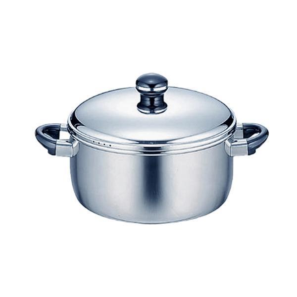 【クーポンあり】【送料無料】オブジェ ジャンボ両手鍋 28cm OJ-40 0675012 熱がムラなく伝わる全面鉄芯3層鋼の両手鍋。