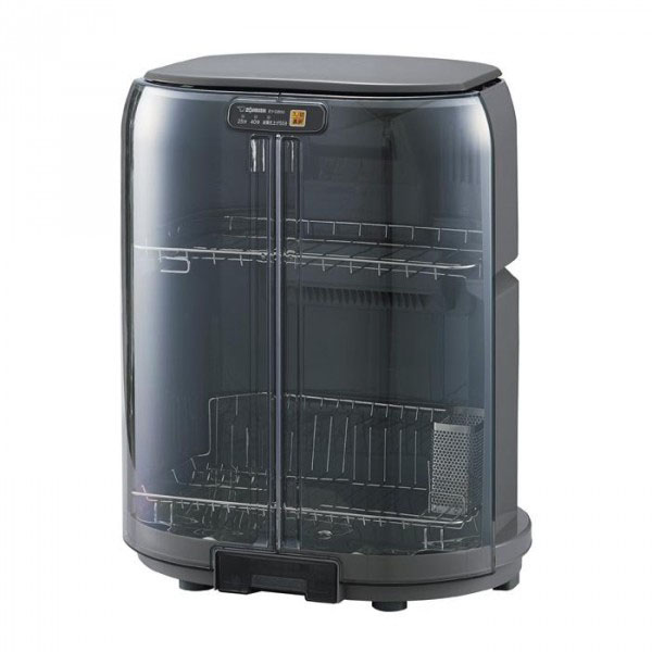 【クーポンあり】【送料無料】象印 食器乾燥機 EY-GB50 グレー(HA) 置き場所に困らない「省スペース・たて型」の乾燥機。