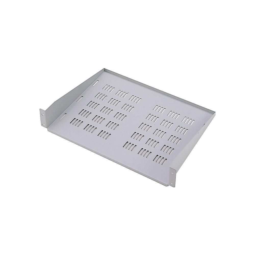 【送料無料】サンワサプライ EIA用スリット付棚板(2U)ライトグレー CP-SVNT2UN EIA用スリット付棚板。2Uタイプ。