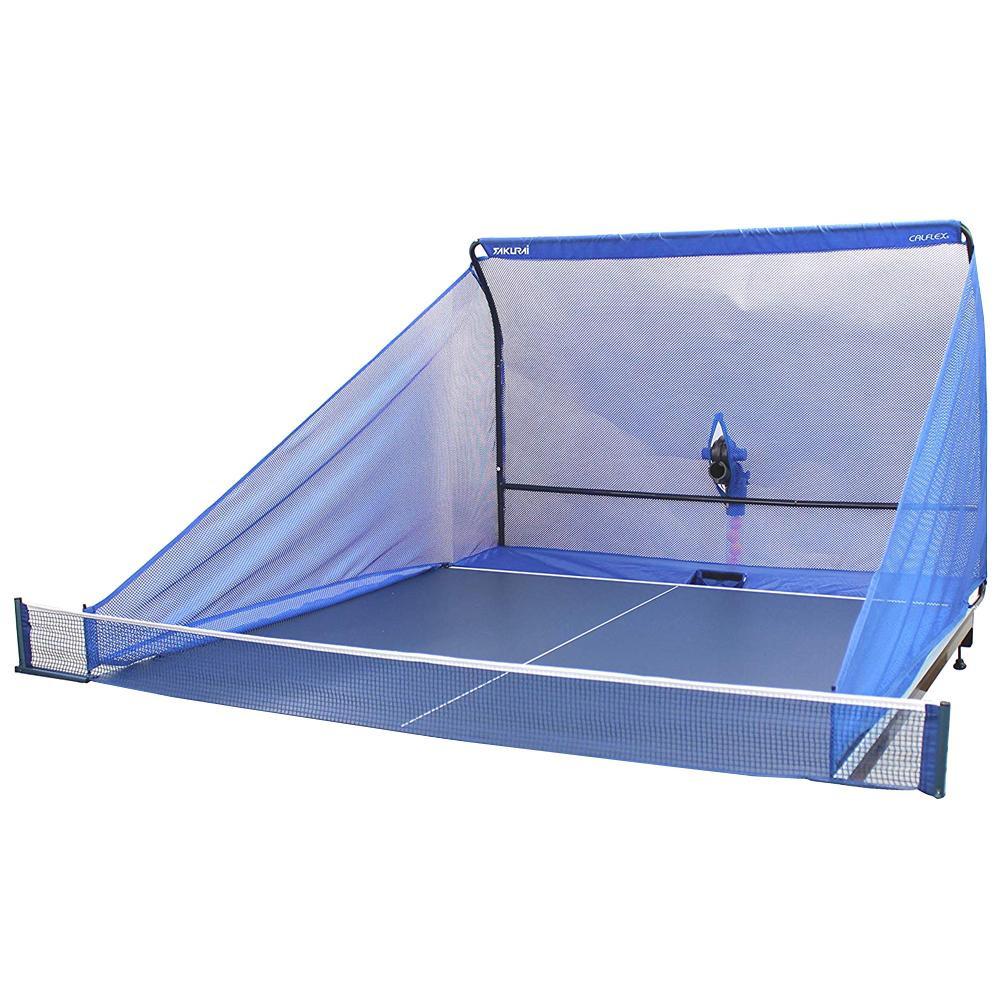 【クーポンあり】【送料無料】CALFLEX カルフレックス ピンポンマシン用 ネット連続 CTRN-18S 卓球マシン用の集球ネット!