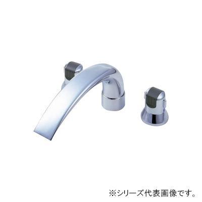 【送料無料】三栄 SANEI Modello ツーバルブデッキ混合栓(ユニット用) K9160C-L-13X240