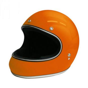 【クーポンあり】【送料無料】ダムトラックス(DAMMTRAX) アキラ ヘルメット ORANGE L 視界開放型のフルフェイスヘルメット。