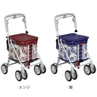 【クーポンあり】【送料無料】シルバーカー アルミワゴンMR No.133 大きな車輪で操作もスムーズ!!