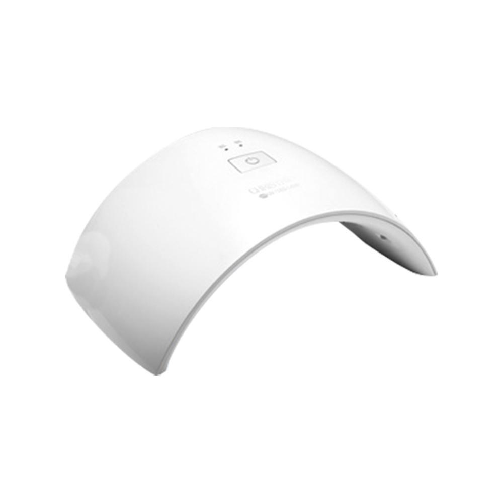 【クーポンあり】【送料無料】CHRISTRIO 36W OPAL LED/UVランプ ホワイト/ホワイト スタイリッシュなLED/UVランプ。