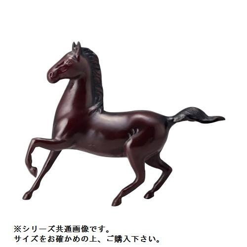 【クーポンあり】【送料無料】高岡銅器 和風置物 勇馬 15号 153-10